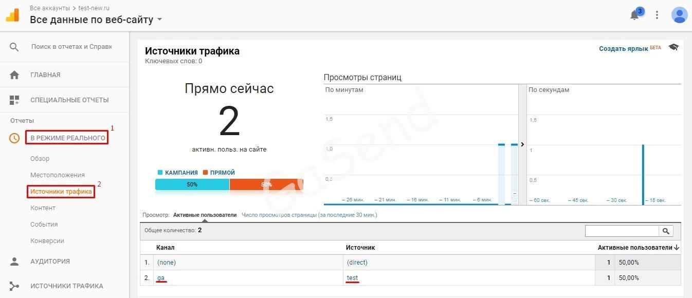 Как проверить работает ли код Google Analytics на вашем сайте?